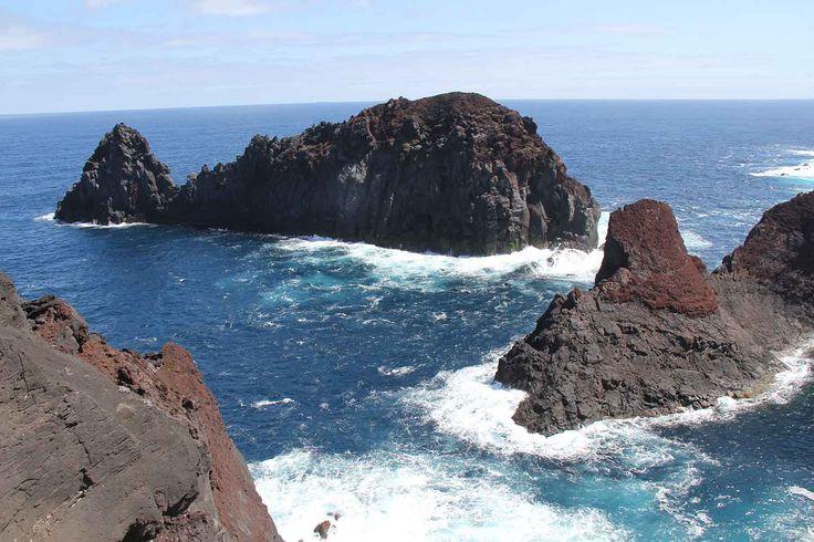 Ilhéu da Baleia (Baleia Islet), Graciosa Island, Azores. Photo by Leila Monteiro Lins. DISCOVER magazine.