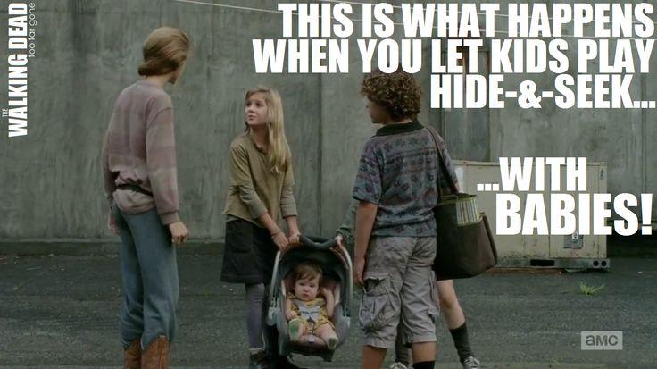 Judith S Car Seat Meme Show The Walking Dead