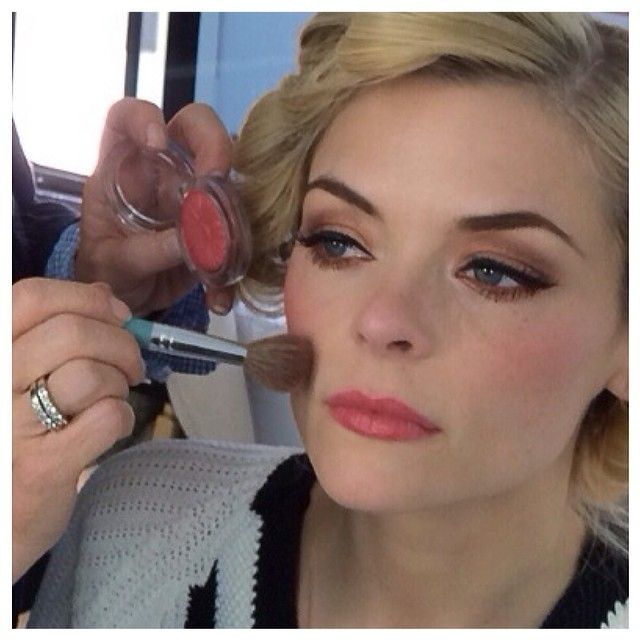 #JaimeKing gets dolled up for #HartofDixie! Don't miss the series return Friday March 21 at 9/8c.