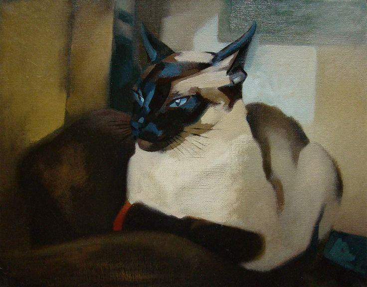 Выставка Портрет Кошки - Ирина Агалакова