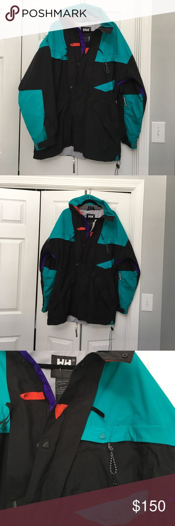 Vintage Helly Hansen Helly-Tech ski jacket,  XL Awesome Vintage Helly Hansen Men's ski jacket size XL. Offers and questions welcome! Helly Hansen Jackets & Coats Ski & Snowboard
