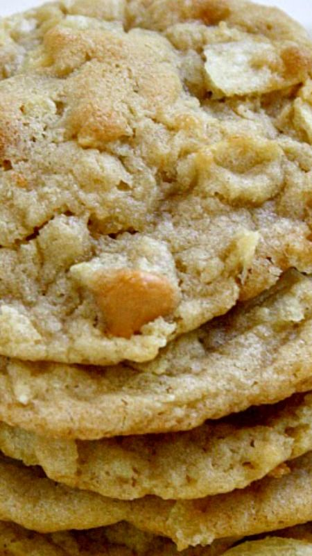 Potato Chip Cookies Recipe ~ They are really amazing!