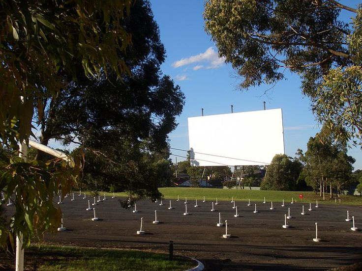 Sydney - City and Suburbs: Bass Hill, drive-in cinema
