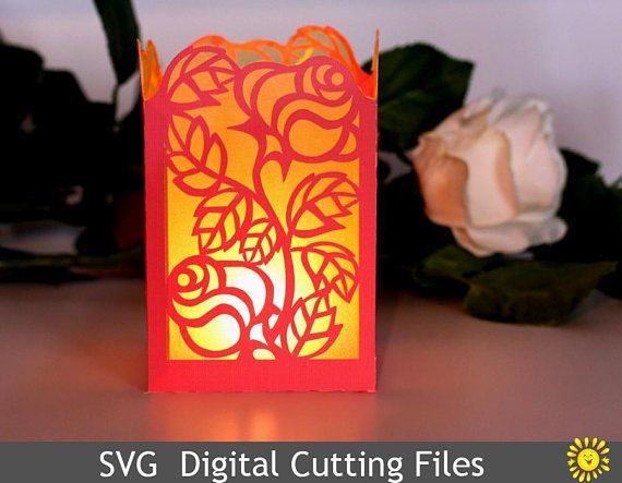 cricut lantern template  Pin on Digital images for craft