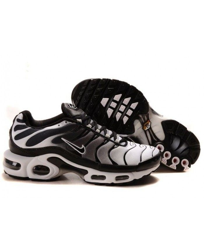 Cheap Nike Air Max TN Mens Trainer Black White Sale
