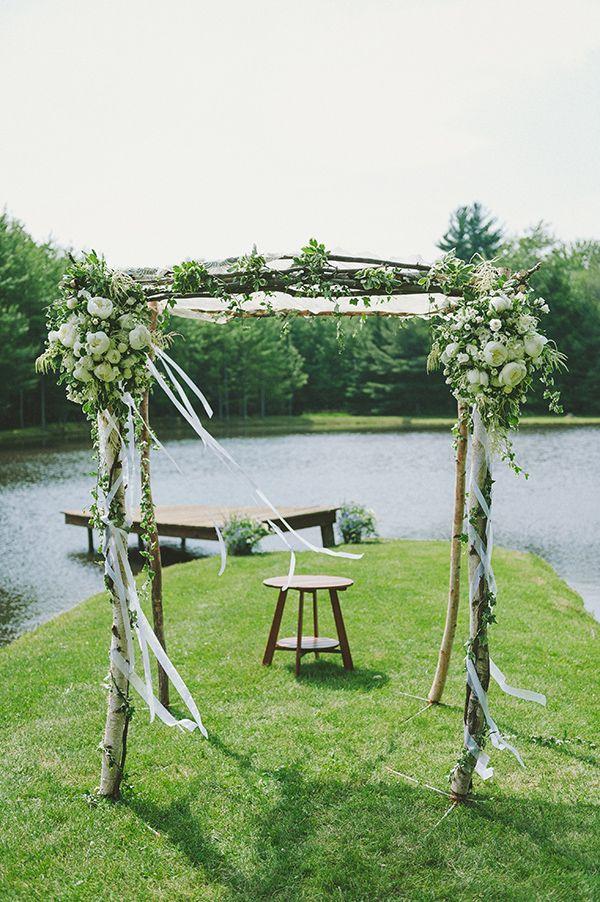 backyard ithaca ny wedding 045 lake wedding ideasdock