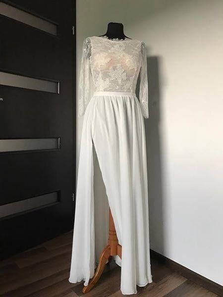 Suknie Suknia ślubna Rustykalnaboho 36 Ivory 99900zł Używane