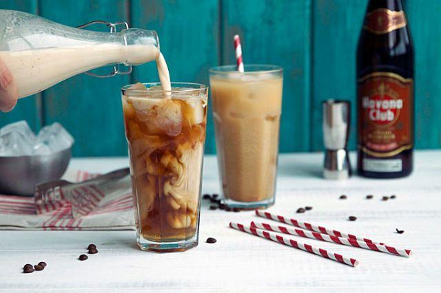 Iced Coffee Rum Kicker - Delish.com