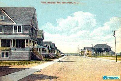 Seaside Park postcard post card - Fifth Avenue, Seaside Park, NJ