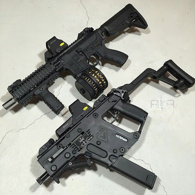 AR15 & Kriss Vector