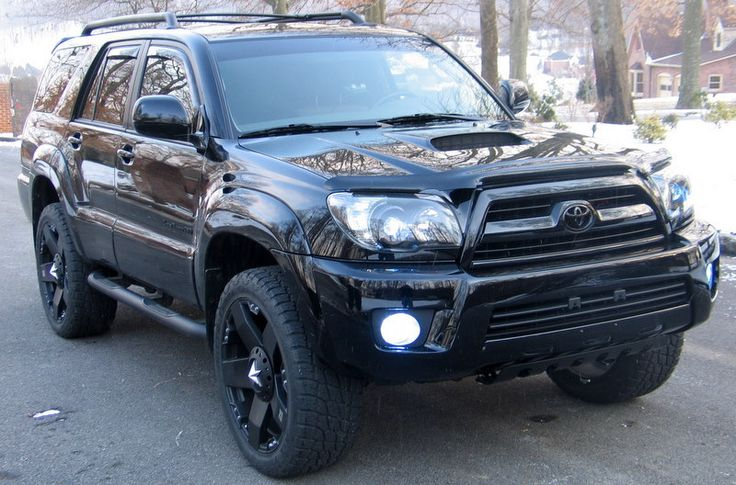 Blacked out 05 four runner | Post pics of your T4R with 20inch wheels and bigger - Page 10 - Toyota ...