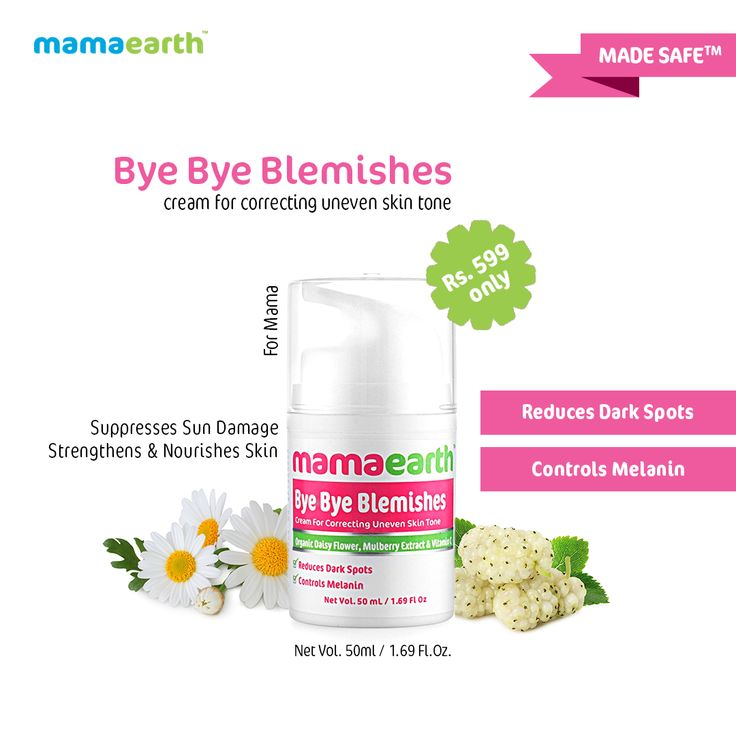 Mamaearth Bye Bye Blemishes Cream is highly effective for