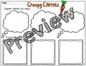 Creepy Carrots: Interactive Read-Aloud Lesson Plans and