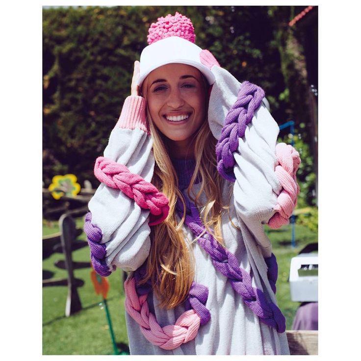 Aitana Baeza #oopsloops #braids #textile #knit