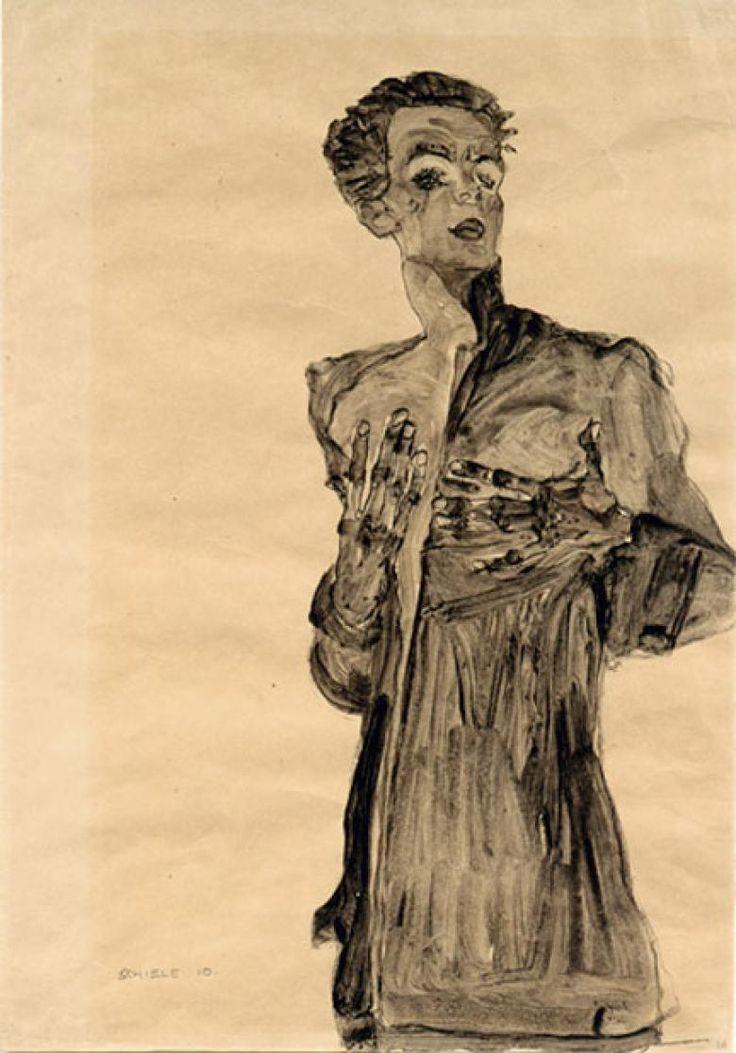 Egon Schiele self
