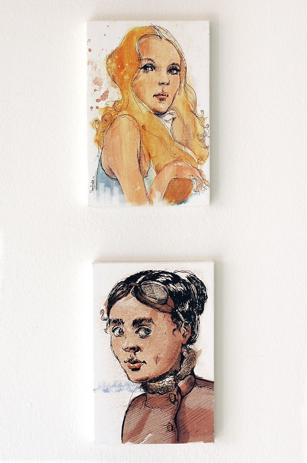 new small prints to hang on the wall by Dario Moschetta, via Behance