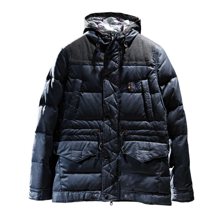 Dual-ism project Filled dawn jacket