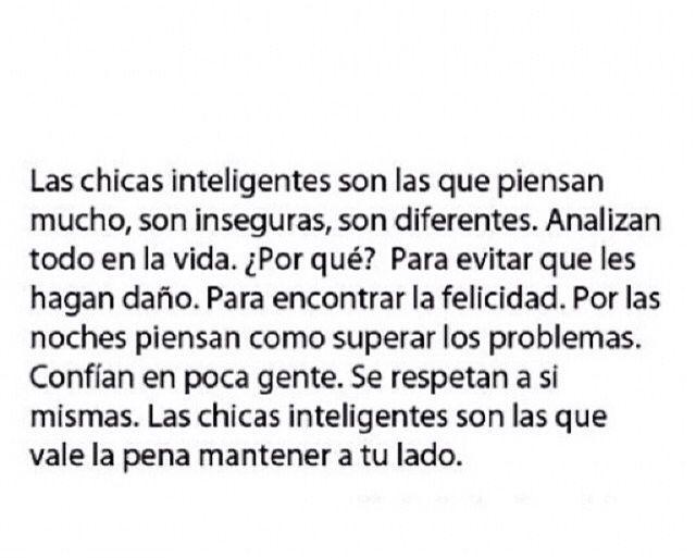 Chicas inteligentes