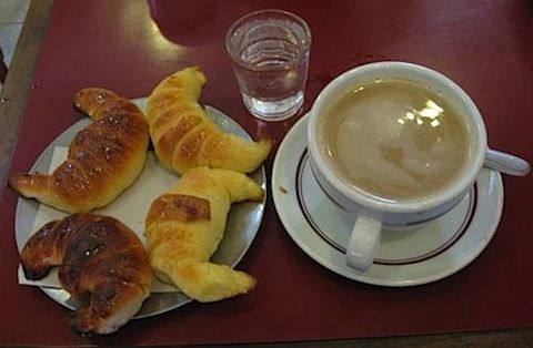 breakfast in Buenos Aires