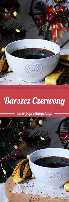 Pyszny czerwony barszczyk :) Z czym go wolicie ? Z pasztecikami czy uszkami? <3 #poprostupycha #barszcz #przepisyswiateczne #wigilia #bozenarodzenie #uszka #paszteciki