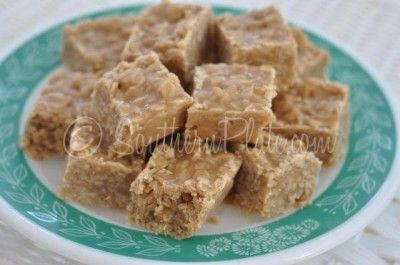 Peanut Butter No Bake Cookie Bites ~ http://www.southernplate.com