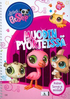 Littlest Pet Shop - Muodin pyörteissä tarrakirja - Kierreselkäinen (6411770196833) - Kirjat - CDON.COM 5,75