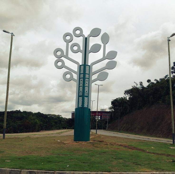 Parque Tecnológico/Bahia - Sinalização