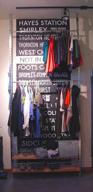 """""""wardrobe"""" ideas, for ppl less fortunate who have no closets"""