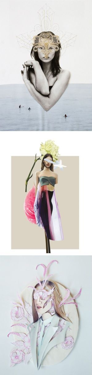 Stunning collages by Ernesto Artillo, on the blog today: http://www.artisticmoods.com/ernesto-artillo/