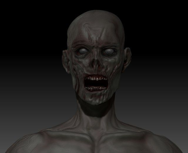 3D Zombie for sale by Virtwo @ 3DExport