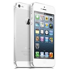 iPhone 5 White starting from $199.99. Get one today at your local Apple Retail Store. Or just order it online through Apple's Online Store!