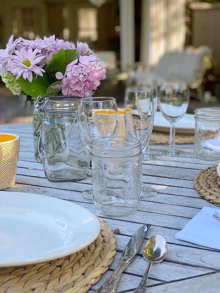 We hosted a dinner party a few weeks ago. It was a socially distant evening as our tables were ten feet apart but it was…