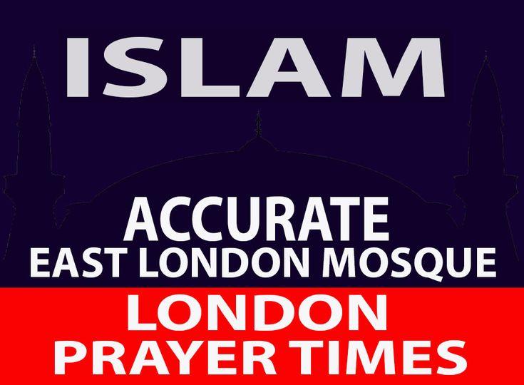 East London mosque prayer times