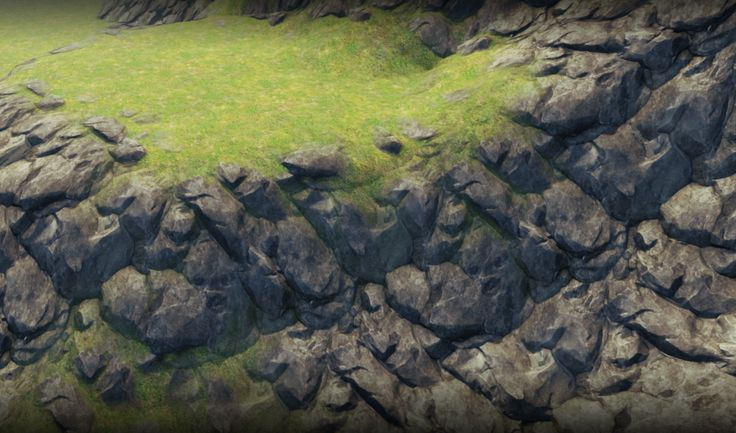 this tutorial will guide you how to make game Tilingrock texture with zbrush and render it in game engine