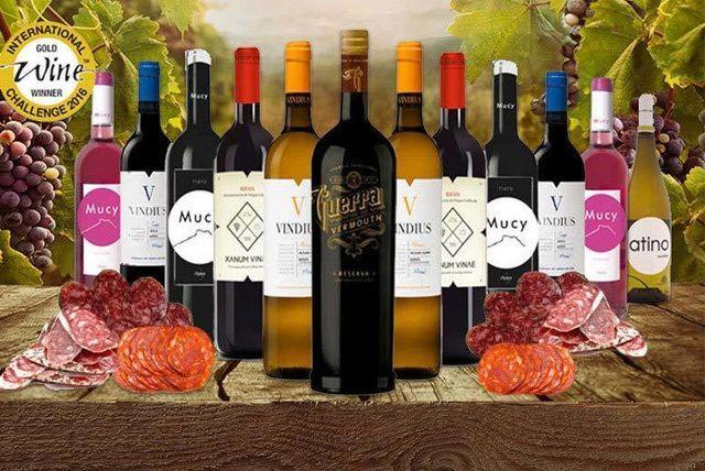 12-Bottle Award-Winning Wine & Charcuterie Hamper