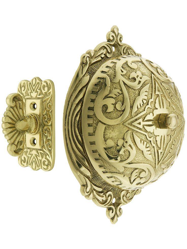 Eastlake Style Twist Door Bell In Solid Brass Eastlake Doorbell Antique Hardware