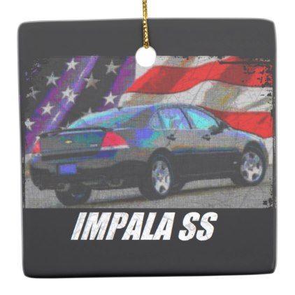 2010 Impala SS Ceramic Ornament - antique gifts stylish cool diy custom