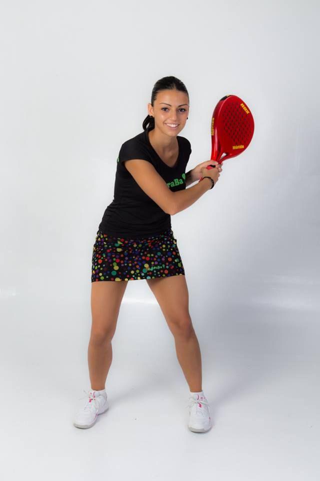 Falda Padel - Tenis Modelo Paint Ball