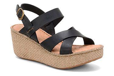 Platform wedge sandals by Born  are warm weather essentials.