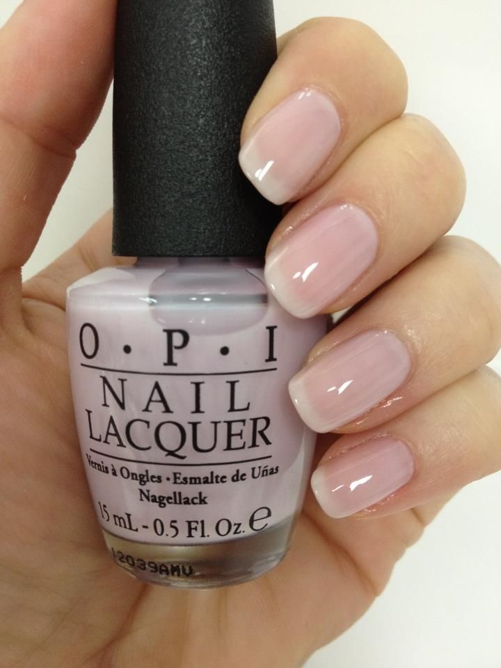 #nails #opi O?P?I (((O.P.I.  Care To Danse? from The New York City Ballet Soft Shades Collection))) ??bEAuTy of being FEMALE?? | Nail opi nail care