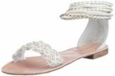 weisse Fashion-Sandalen, gesehen bei Amazon