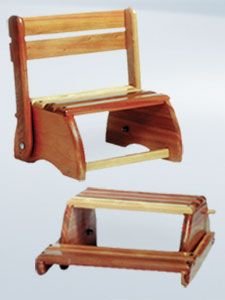 Childs Step Stool Chair