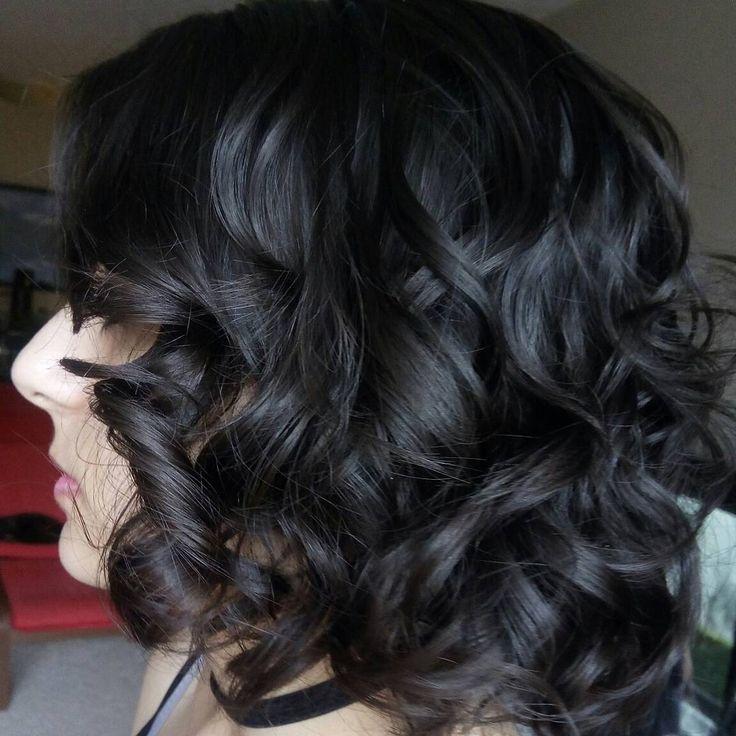 Prom- short hair bouncy curls
