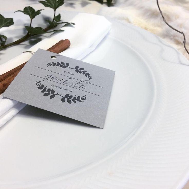 Zimní svatební inspirace #svatbadesign #jmenovky #namecards #winter #wedding #design #zimni #svatba #graphics #svatebni #vyzdoba #decoration #weddingdecoration #inspiration #inspirace