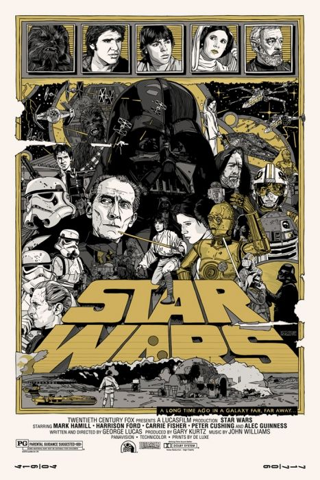 Tyler stout delivers the final mondo star wars posters stout has designed posters for star wars the empire strikes back and return of the jedi