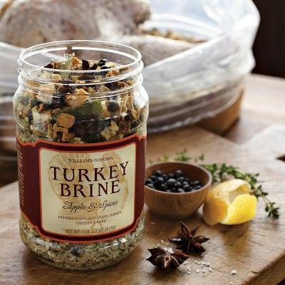 Williams-Sonoma Turkey Brine, Apple & Spices #WilliamsSonoma