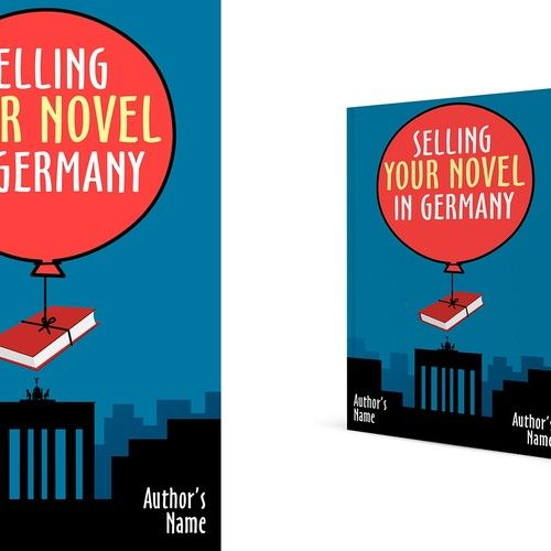 """E-book cover for an author's guide to buying German translations"""