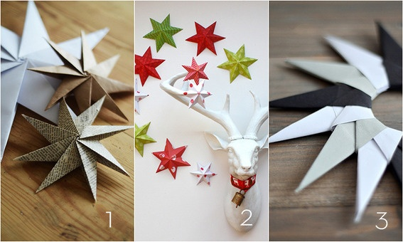 15 DIY Paper Holiday Decor Projects