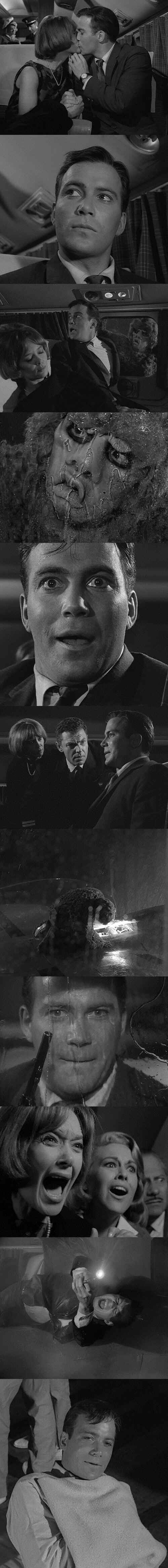 """Let's just hope this isn't me in a week!  """"Nightmare at 20,000 Feet"""", Twilight Zone, Season 5, Episode 3"""