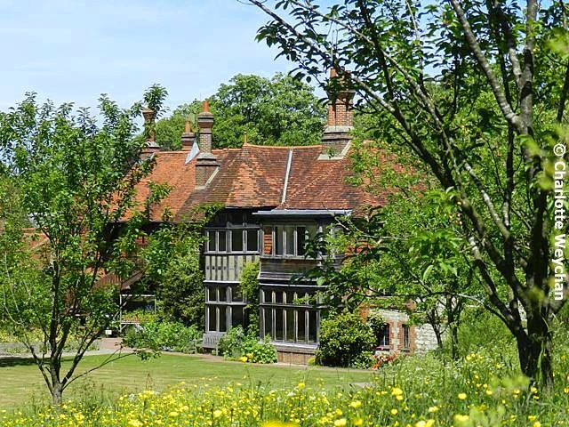 Gilbert White's House in Hampshire UK